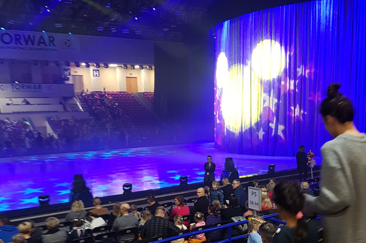 TataDeveloper - Disney on Ice widok
